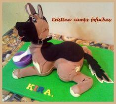 Fofucha perro pastor aleman   Fofuchas   Pinterest