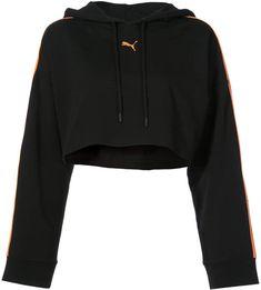 e9ca6349511 FENTY PUMA by Rihanna logo cropped hoodie Sudaderas Puma, Ropa Puma, Moda  Grunge,