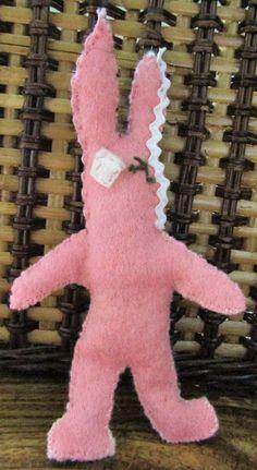 Catnip Voodoo Rabbit ///  Felt Catnip Toy by fowlnfelines on Etsy