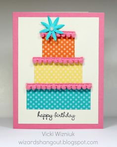 Wizard's Hangout: Dottty for You birthday card