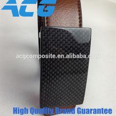 Carbon fiber Belt PU Belt Men's fashion carbon buckle