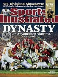 Dynasty: Can Anyone Stop Alabama? Sports Illustrated cover