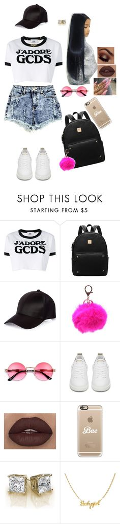 """""""Summer Outfit Ideas ☀️#973"""" by medinea ❤ liked on Polyvore featuring GCDS, River Island, Golden Goose and Casetify"""