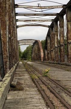 Lost | Forgotten | Abandoned | Displaced | Decayed | Neglected | Discarded | Disrepair |  Rail Bridge, Finland