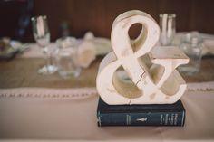 ampersand table decor