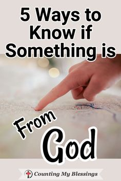 5 Ways to Know if Something is From God Where should I live? It's not always easy to know if something is part of God's plan for us! These 5 tried and true steps will help. Prayer Scriptures, Bible Teachings, Bible Prayers, Faith Prayer, Prayer Quotes, My Prayer, Bible Verses Quotes, Faith Quotes, Quotes Quotes