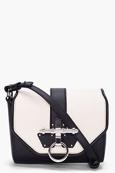 http://rstyle.me/hkijd4btd    GIVENCHY Two Tone Obsedia Evening Bag