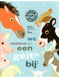 Prentenboek van het Jaar 2016: We hebben er een geitje bij! - Mik haast zich naar de kinderboerderij, want er is een geitje geboren. Eerst komt hij langs de koe, het paard, de kip en andere dieren, die ook allemaal het ...
