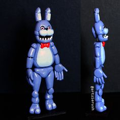 Bonnie Polymer Clay Figurine from Five Nights at by ArtzieRush