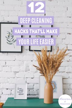 These deep cleaning home hacks are THE BEST! I'm so glad I found these AWESOME home cleaning tips! Now I have some great ways to deep clean my home! #Macarons&Mochas #DeepCleaning Deep Cleaning Tips, House Cleaning Tips, Cleaning Hacks, Declutter Your Home, Home Hacks, Clean House, Mocha, Macarons, Give It To Me