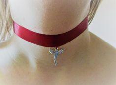 Ribbon fairy choker de MelsCraftingBox en Etsy