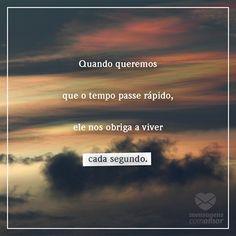 #mensagenscomamor #tempo #frases #amor #vida