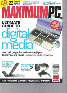 Maximum PC Magazine (Ultimate guide to digital « Library User Group