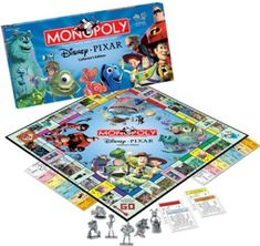 MONOPOLY - Disney/Pixar Collectors Edition @ niftywarehouse.com #NiftyWarehouse #Geek #Gifts #Collectibles #Entertainment #Merch