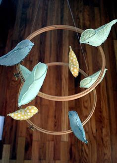 Eighteenth Century Agrarian Business: diy: bird mobile