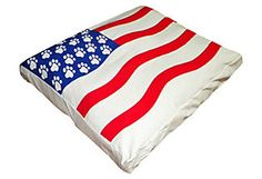 American Flag dog bed! Well, Murphy needs this!!!