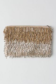 Giltwork Pin Fringe / Anthropologie.com #sparkle #nye2013