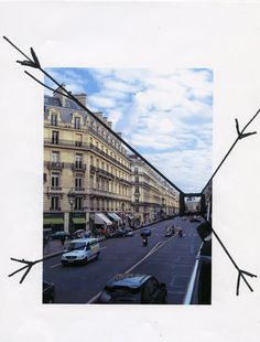 A photographic example. Lijnperspectief