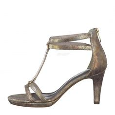 detail Dámská obuv TAMARIS 1-1-28006-38 GOLD STRUCTURE 953