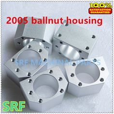 Brand New 3pcs/lot SFU2005 SFU2010 Ballscrew Ball nut housing bracket holder Aluminium Alloy Materiel for  20mm Ballscrew #CLICK! #clothing, #shoes, #jewelry, #women, #men, #hats, #watches