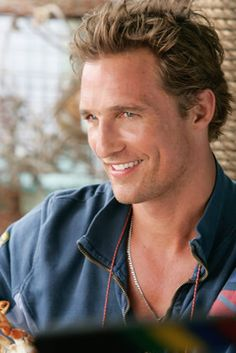The Southern Charm... those dimples and that accent make me **swoon** Matthew McConaughey