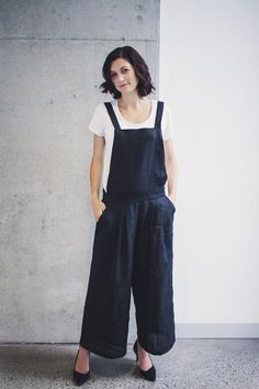Yoko Convertible Overalls Pants Sewing Pattern – Hana Patterns