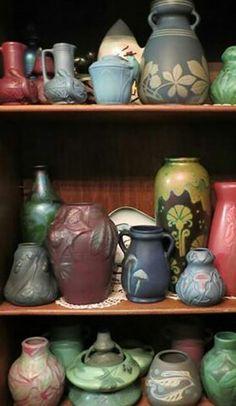 Weller Pottery - Lots of Fru Russett