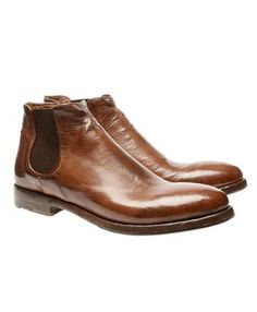 ALBERTO FASCIANI 'Calipso' leather Chelsea boots