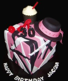Pink the Artist Themed Birthday Cake - by Nada's Cakes Canberra