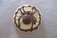 Homemade Chocolate Spider made with Baked By Me's mould