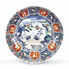 A JAPANESE IMARI DISH<br>MEIJI PERIOD   lot   Sotheby's