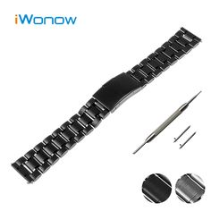 Stainless Steel Watch Band 18mm 20mm 22mm for Hamilton Quick Release Strap Press Buckle Wrist Belt Bracelet Black Silver + Tool #Affiliate