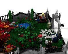 LEGO Ideas - Modular City Park: Emmet Memorial