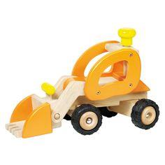 Met deze houten graafmachine kan je grote, diepe kuilen maken en zand of puin verplaatsen. Een graafmachine is een leuk voertuig wat niet mag ontbreken in je voertuigen collectie. Geschikt voor kindjes vanaf 4 jaar. Te vinden bij Sassefras Meisjes Speelgoed voor écht peuter en kleuter speelgoed.