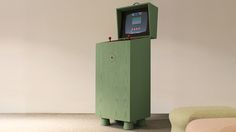 A Retro-futuristic Arcade Cabinet That Plays Equally Retro Games