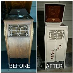 Another Dumpster Dive! Repurposed phonograph cabinet