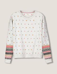 1a50a42e7ae32 Sweat broderies manches ethniques Sweat Brodé, Col Rond, Ethnique, Chine,  Manches,