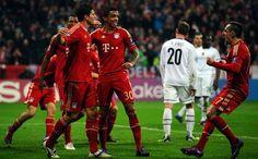 Mario Gomez with Franck Ribery after 7-0 thrashing of FC Basel. :-)