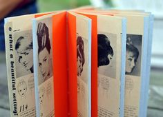 Art Wandawega book construction, 2009 by Julia Stotz of Tipinfold Books