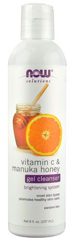 Manuka Honey and Vitamin C Cleanser by NOW FOODS - $9.99 for 8oz