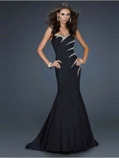 Trumpet/Mermaid Beading Sleeveless Sweetheart Sweep/Brush Train Taffeta Prom Dress