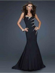Trumpet/Mermaid Beading Sleeveless Sweetheart Sweep/Brush Train Taffeta Prom Dress