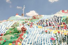 The Cherry Blossom Girl - Salvation Mountain