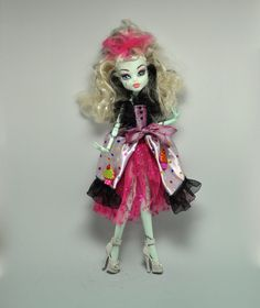 Cupcake Royal Monster High Dress by GhouliasCloset on Etsy