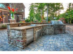 Outdoor Kitchen Charlotte NC Real Estate HM Properties