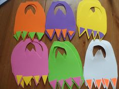 "Foam ""Monster Feet"" that kids can just slip on. Looks simple and fun!"