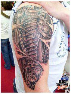 I love Biomechanical tattoos! Samoan Tattoo, Arm Tattoo, Tattoos For Guys, Cool Tattoos, Biomechanical Tattoos, Planets, My Style, Tattoo Ideas, Tattoo Sleeves