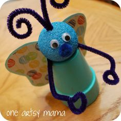 One Artsy Mama: Spring Butterfly Craft