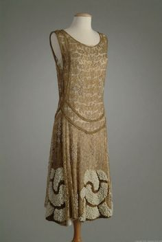 dress ca. 1924 via The Meadow Brook Hall Historic Costume Collection
