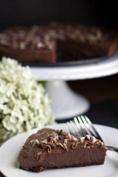 RICH & CREAMY CHOCOLATE TORTE - Erren's Kitchen - This creamy Chocolate Torte Recipe is rich, decadent and utterly delicious!